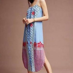 Anthropologie Embroidered Lilka Dress